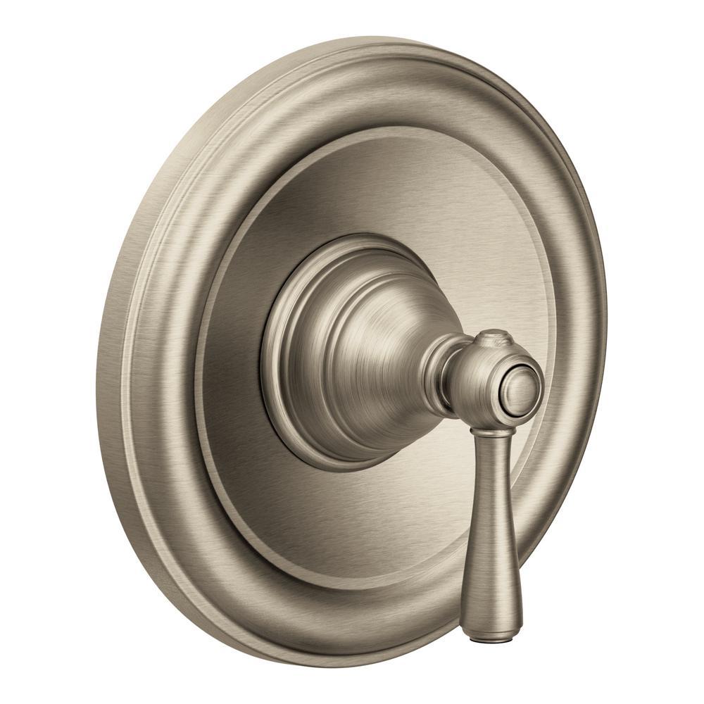 Kingsley Posi-Temp Single-Handle Valve Trim Kit in Brushed Nickel (Valve Not Included)