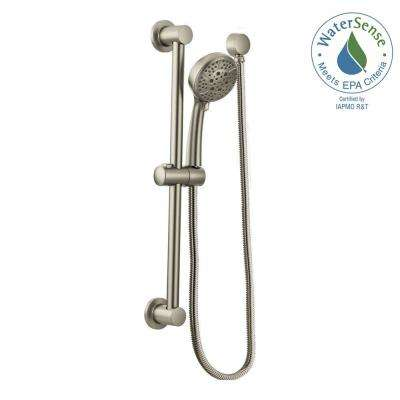 Delicieux Eco Performance Handheld Handshower With Slidebar In Brushed Nickel