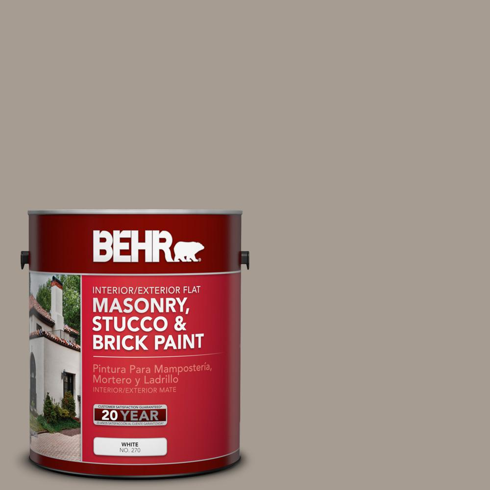 Behr 1 Gal N200 4 Rustic Taupe Flat Interior Exterior Masonry