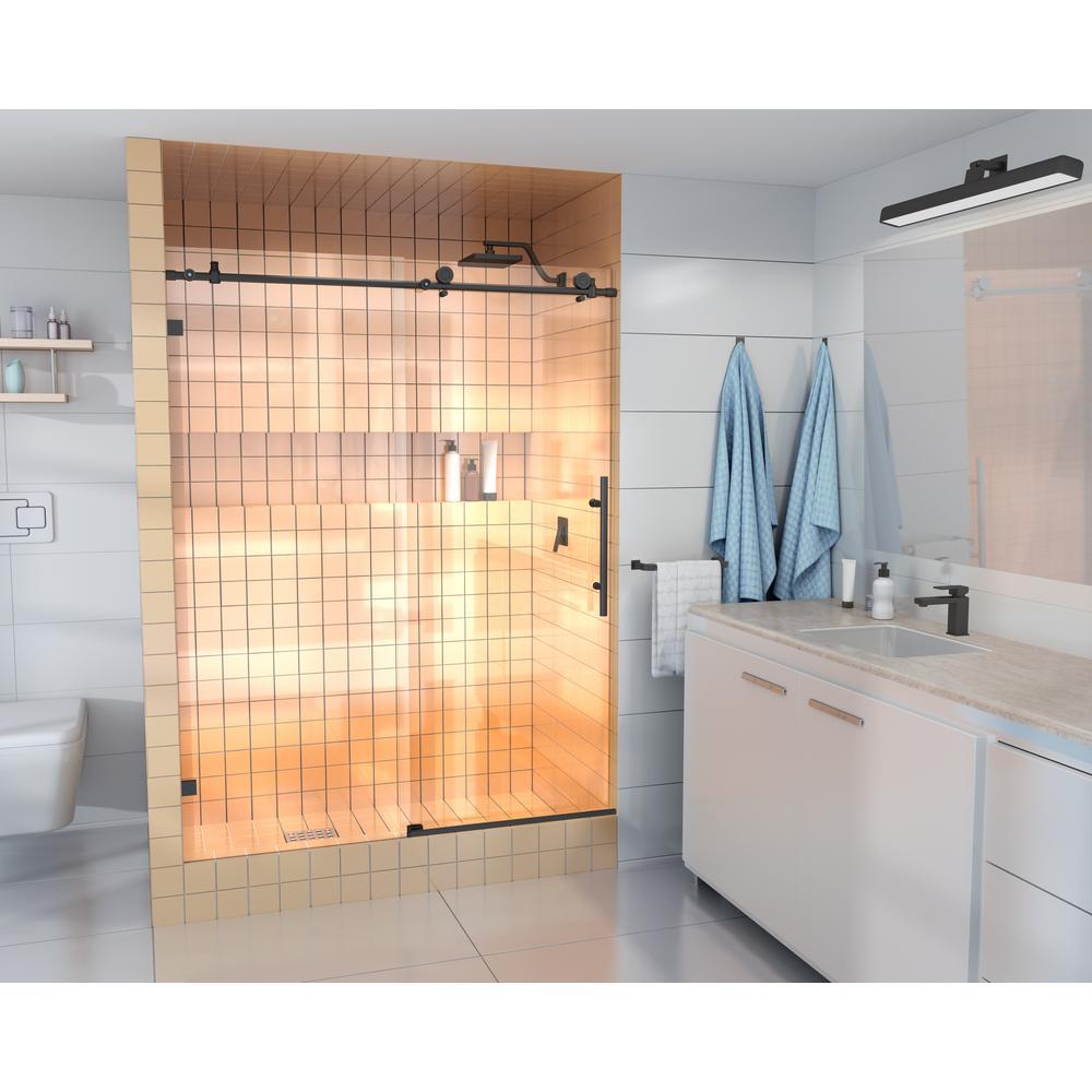 Glass Warehouse 60 In X 78 In Frameless Sliding Shower