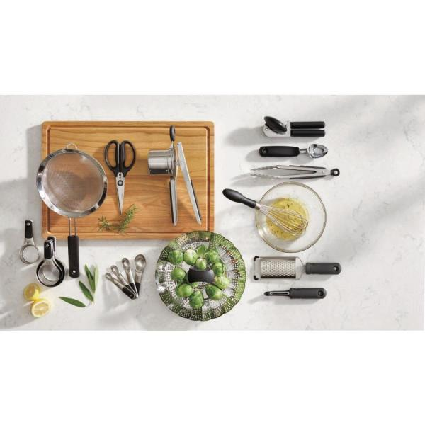 Oxo Good Grips 6 Piece Kitchen Essentials Set 76781 The Home Depot