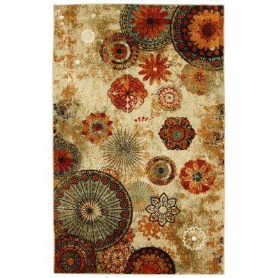 Bazaar Caravan Medallion Multi 7 ft. 6 in. x 10 ft. Area Rug