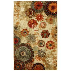 Caravan Medallion Multi 7 ft. 6 in. x 10 ft. Area Rug