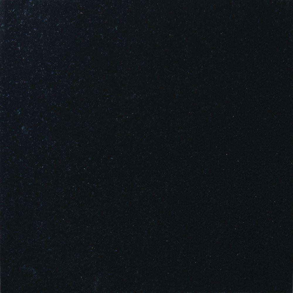 Absolute Black 18 in. x 18 in. Polished Granite Floor and