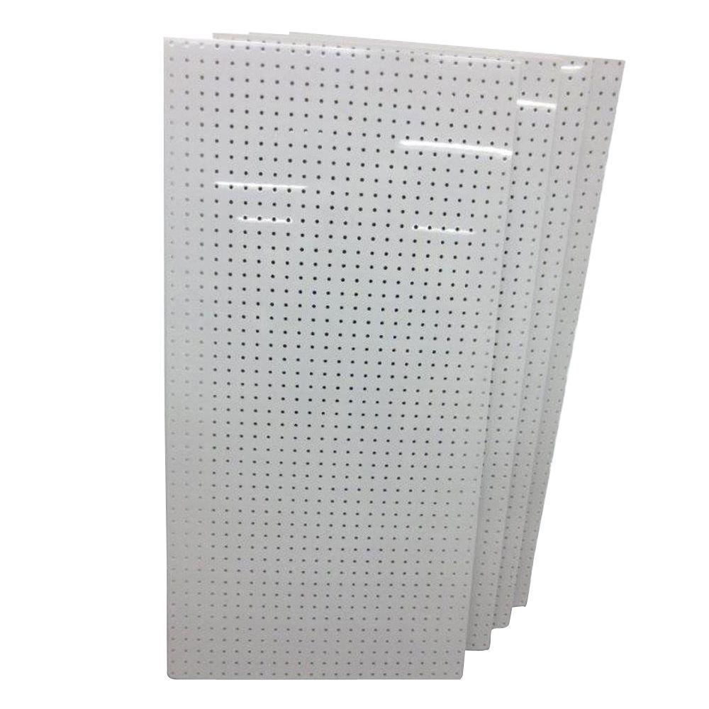 DuraBoard 24 in. x 48 in. x 1/4 in. Polypropylene Pegboard (4-Boards)
