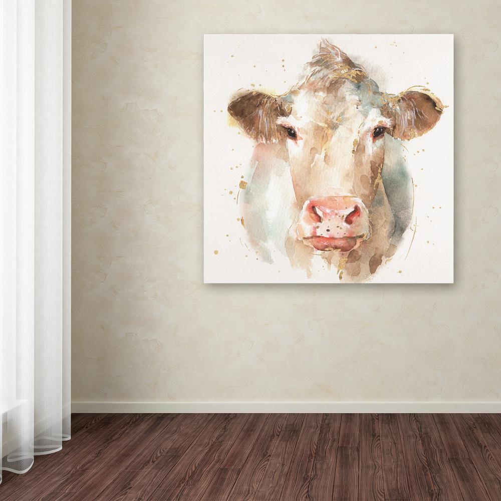 "14 in. x 14 in. ""Farm Friends II"" by Lisa Audit Printed Canvas Wall Art"