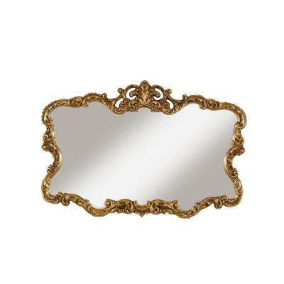 Aureate Antique Gold Wall Mirror