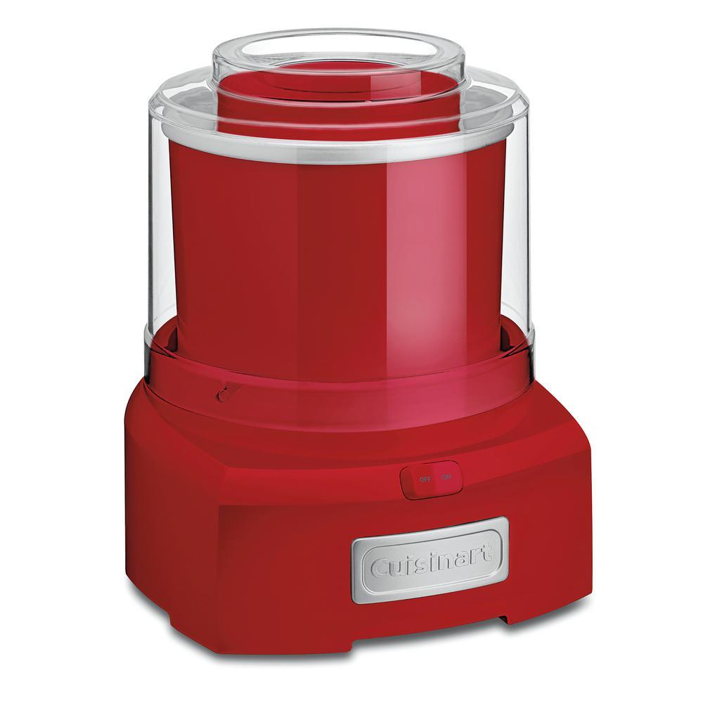 Red Cuisinart ICE-21R Frozen Yogurt Ice Cream /& Sorbet Maker
