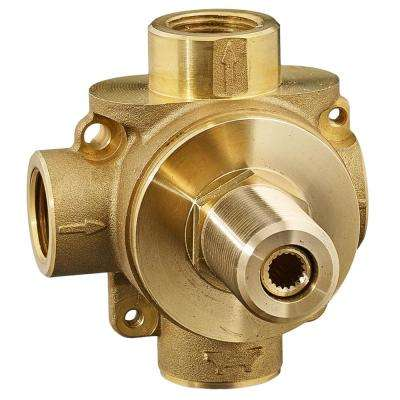 1/2 in. 2-Way In-Wall Rough Diverter Valve