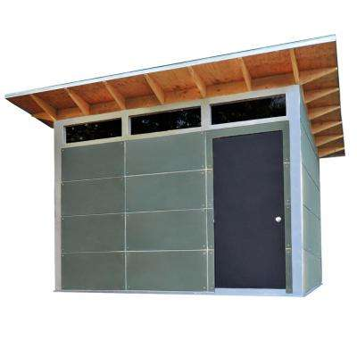 Trico 12 ft. x 10 ft. Premium Backyard Storage/Workshop Building