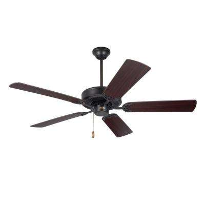 Builder 52 in. Oil Rubbed Bronze Ceiling Fan