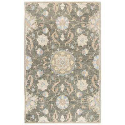 Resonant Brown/Multicolor 10 ft. x 13 ft. Rectangle Area Rug