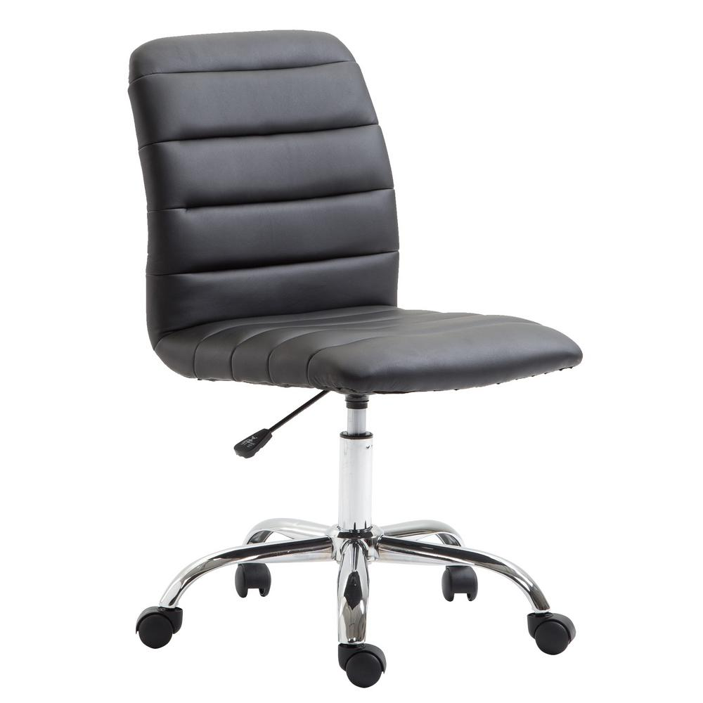 EDGEMOD Polox Black Task Chair was $86.06 now $51.63 (40.0% off)