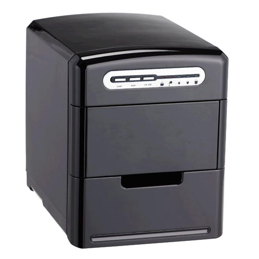 SPT 26.5 lb. Portable Ice Maker in Black
