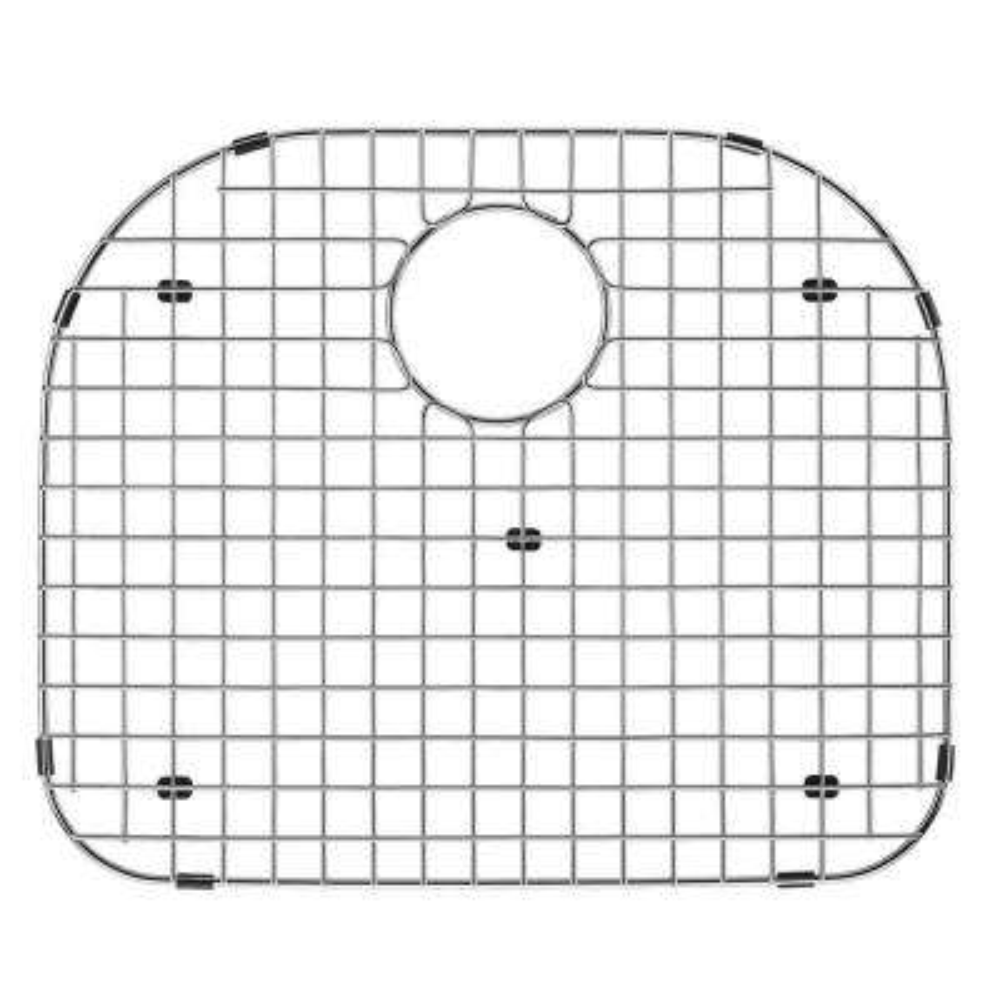 19.25 in. x 16.875 in. Kitchen Sink Bottom Grid in Stainless Steel