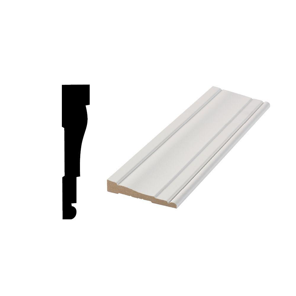 LWM 445 5/8 in. x 3-1/4 in. Primed Medium Density Fiberboard