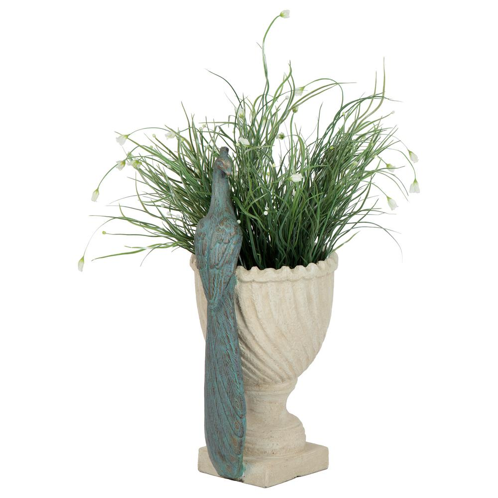 Bombay Outdoors Halcyon Peacock Planter-A100055 - The Home Depot