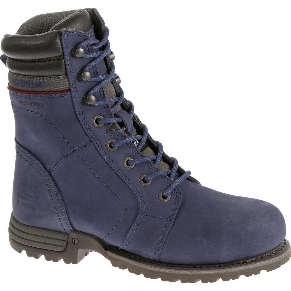 Echo Women's Size 9M Marlin Waterproof Steel Toe Work Boots