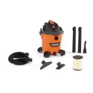 Ridgid 12 Gal. Wet/Dry Shop Vacuum with Filter, Hose and Accessories