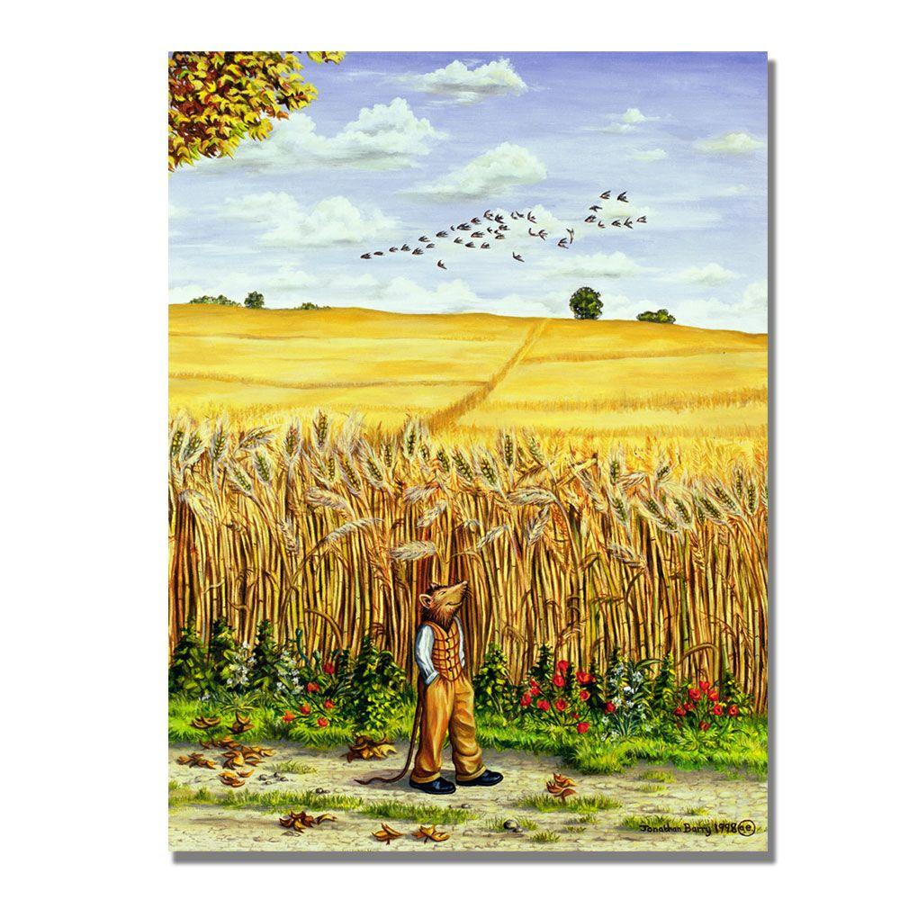 Trademark Fine Art 24 in. x 32 in. Wayfarers All, 1998 Canvas Art-DISCONTINUED
