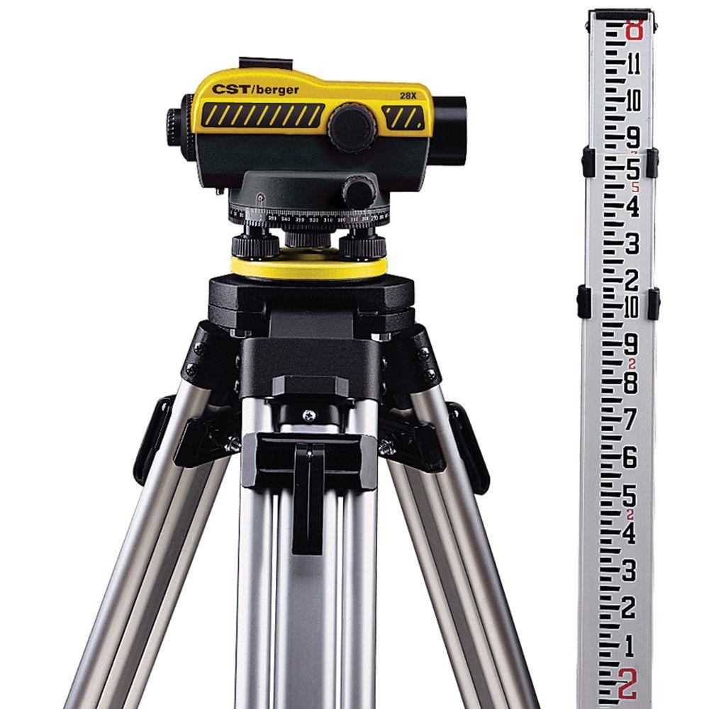 CST/Berger Standard Automatic Level Kit with 28x Magnification
