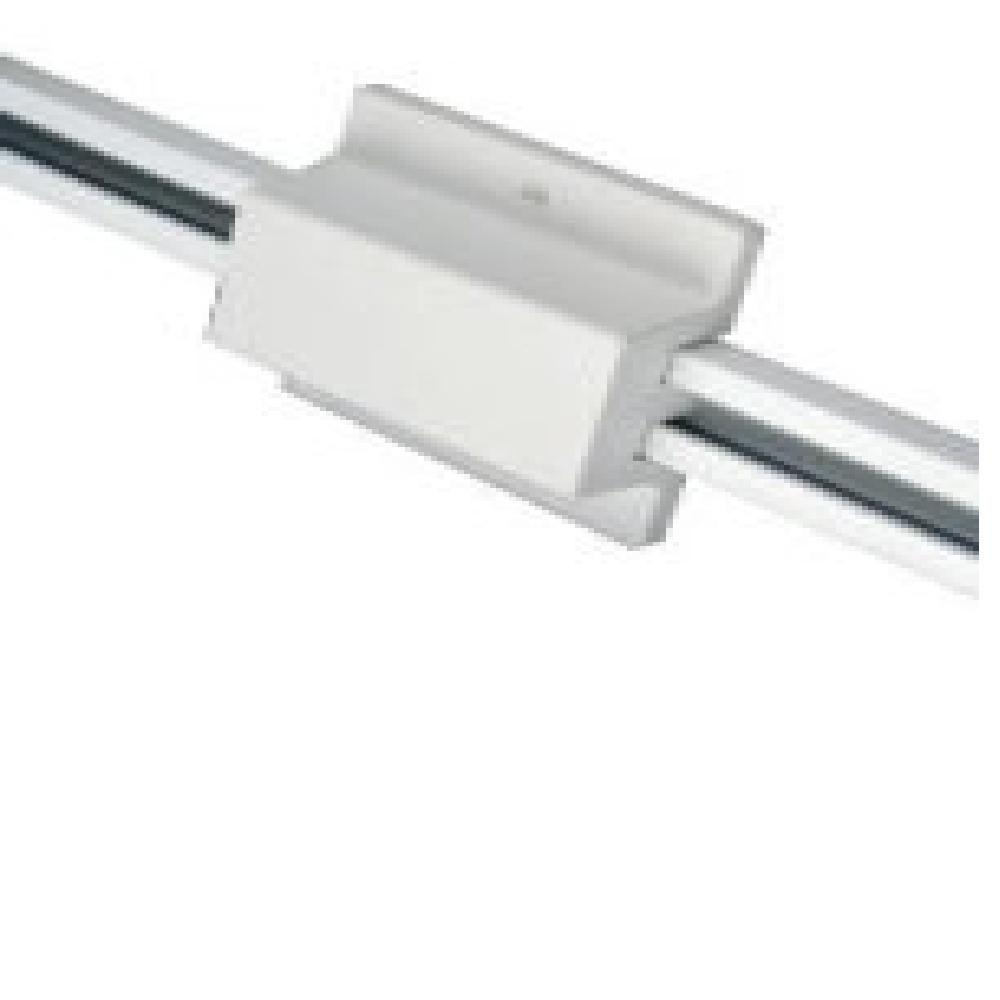 Halo Lazer Track Lighting White Floating Canopy And Connector Feed