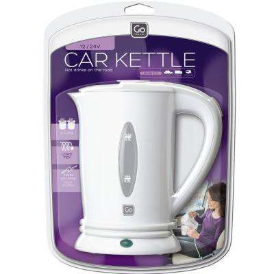 2.1-Cup White Car Kettle