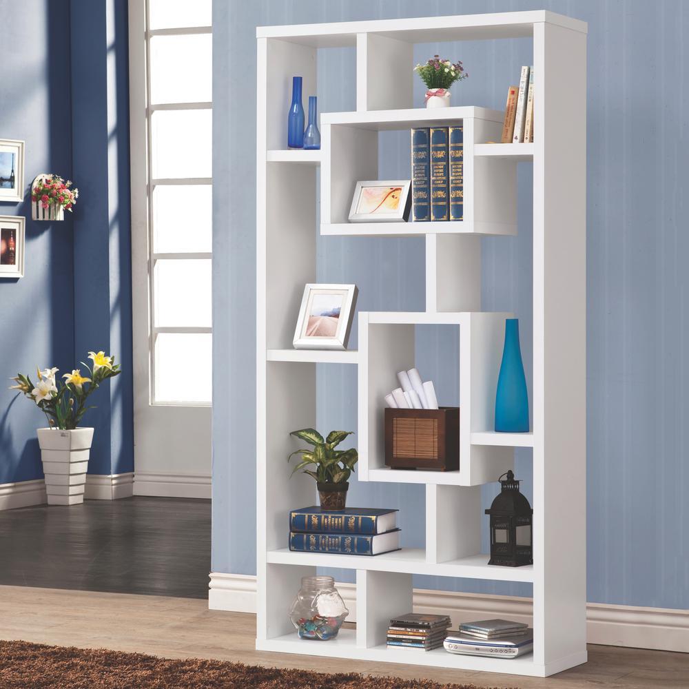 Maguire White Bookcase