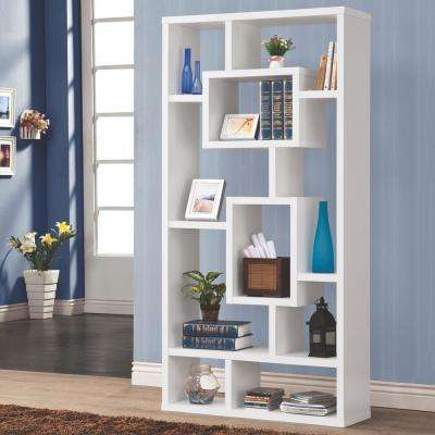 Maguire White Bookcase