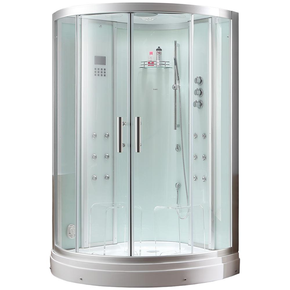 Ariel Platinum 47.2 In. X 87.5 In. X 47.2 In. Steam Shower Enclosure