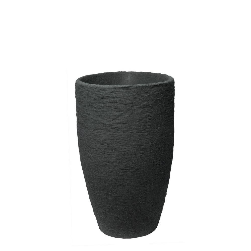 Algreen 24 In H X 15 In W Black 100 Recycled Athena Polyethylene