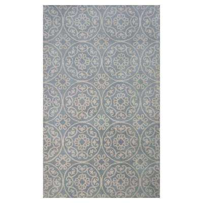 Grey Heritage 3 ft. 3 in. x 5 ft. 3 in. Area Rug