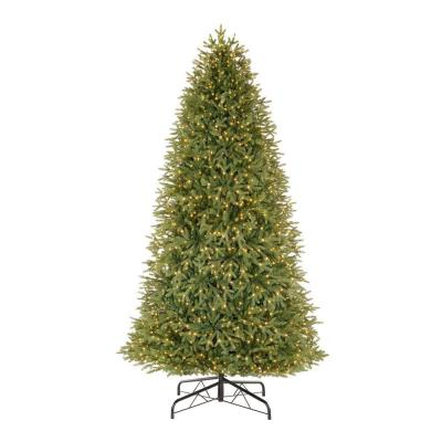 9 ft Jackson Noble Fir LED Pre-Lit Artificial Christmas Tree with 1500 Color Changing Micro Dot Lights