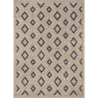 Andes Beige 7 ft. 9 in. X 9 ft. 9 in. Indoor Area Rug