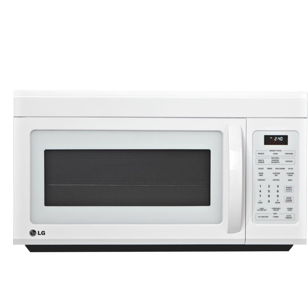 LG Electronics 1.8 cu. ft. Over-the-Range Microwave in White