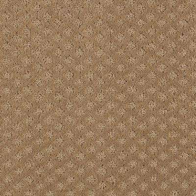 Carpet Sample - Lilypad - Color Worn Leather Pattern 8 in. x 8 in.