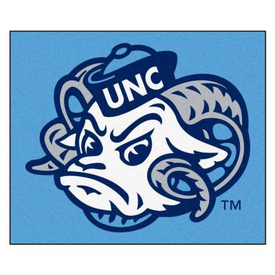 University of North Carolina Chapel Hill 5 ft. x 6 ft. Tailgater Area Rug