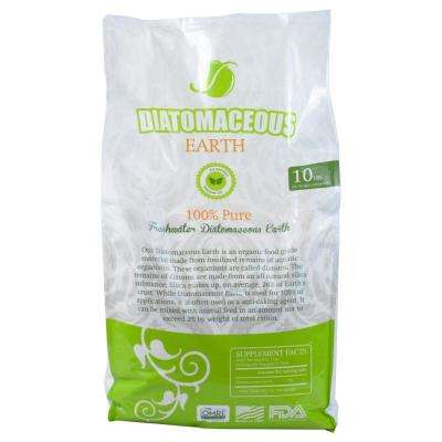 10 lbs. Bag Diatomaceous Earth Food Grade (Fresh Water Type) Codex DE (0.5)