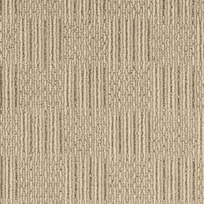 Carpet Sample - Upland Grid - Color Oakwood Loop 8 in. x 8 in.
