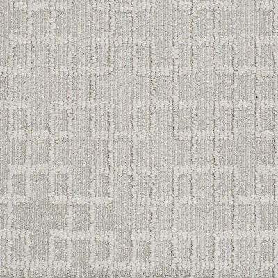 Carpet Sample - Quilted Dreams- In Color Parchment 8 in. x 8 in.