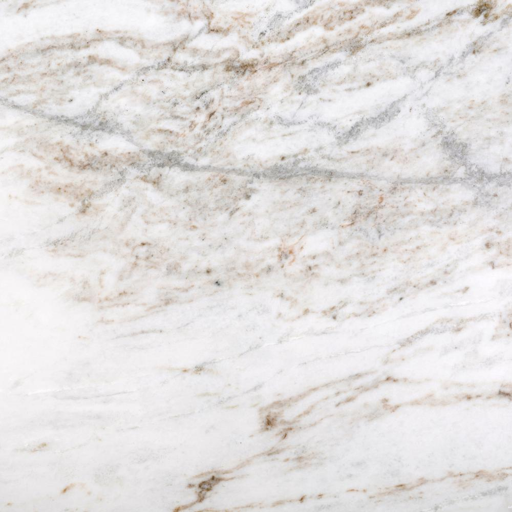 Marble Kalta Fiore Polished 12.01 in. x 12.01 in. Marble Floor