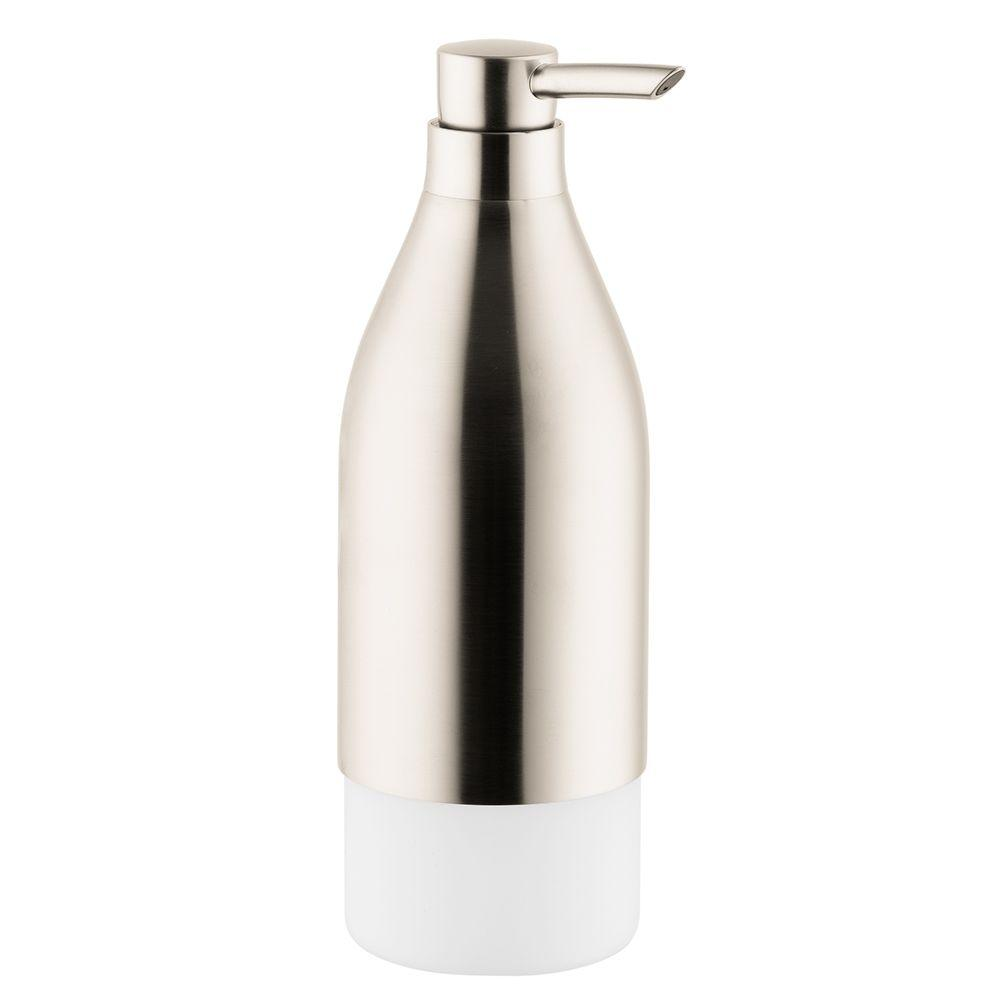 Hansgrohe Axor Starck Wall-Mounted Soap/Lotion Dispenser in Brushed Nickel