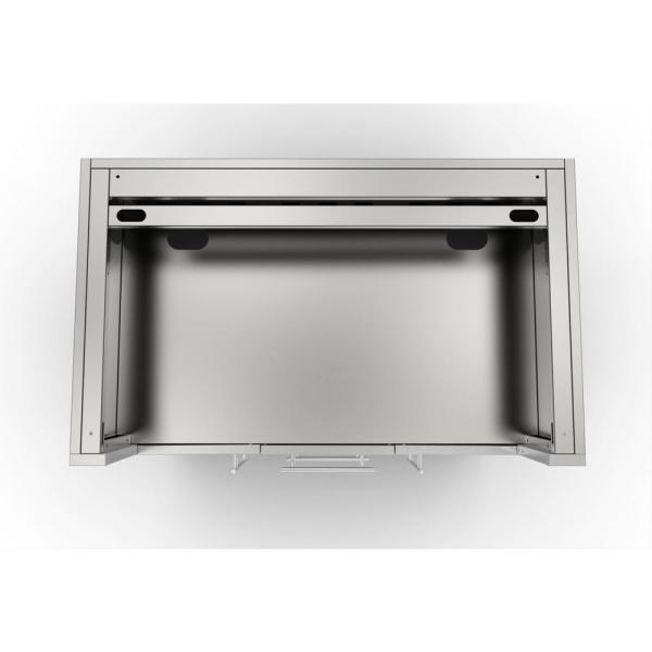 Sunstone Designer Series 304 Stainless Steel 46 In X 34 5 In X 28 25 In Drop In Gas Grill Base Cabinet Sac46glpcd The Home Depot