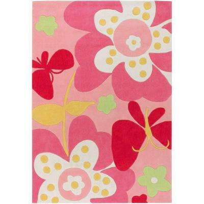 Holdrege Pink 5 ft. x 7 ft. Area Rug