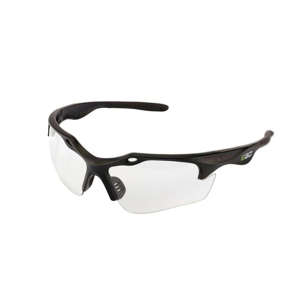 EGO Anti-Scratch Safety Glasses with Clear Lenses