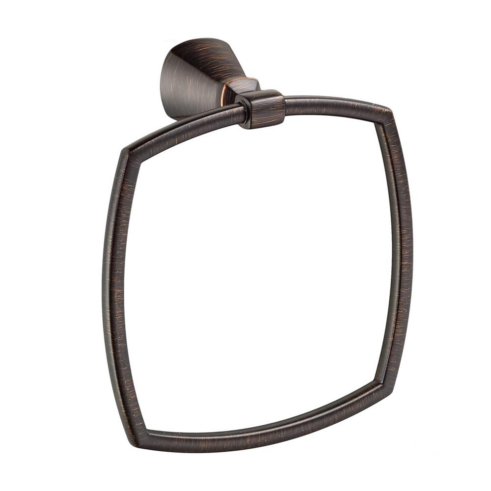 Edgemere Towel Ring in Legacy Bronze