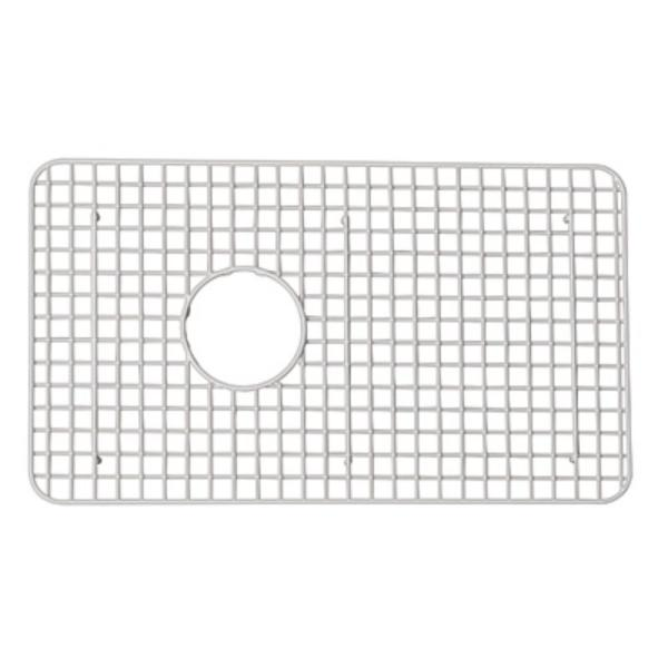 Rohl Shaws 14 1 2 In X 26 3 8 In Wire Sink Grid For Rc3018 Kitchen Sinks Wsg3018ss The Home Depot