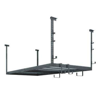 VersaRac Set with 1-Overhead Rack and 10-Piece Accessory Kit (VersaRac, J-Hooks, S-Hooks)