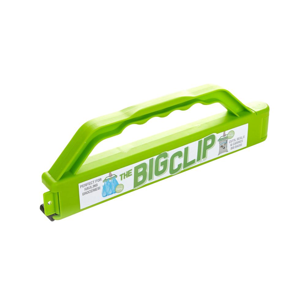 VIATEK Big Clip - Bag Clip with Cutting Blade