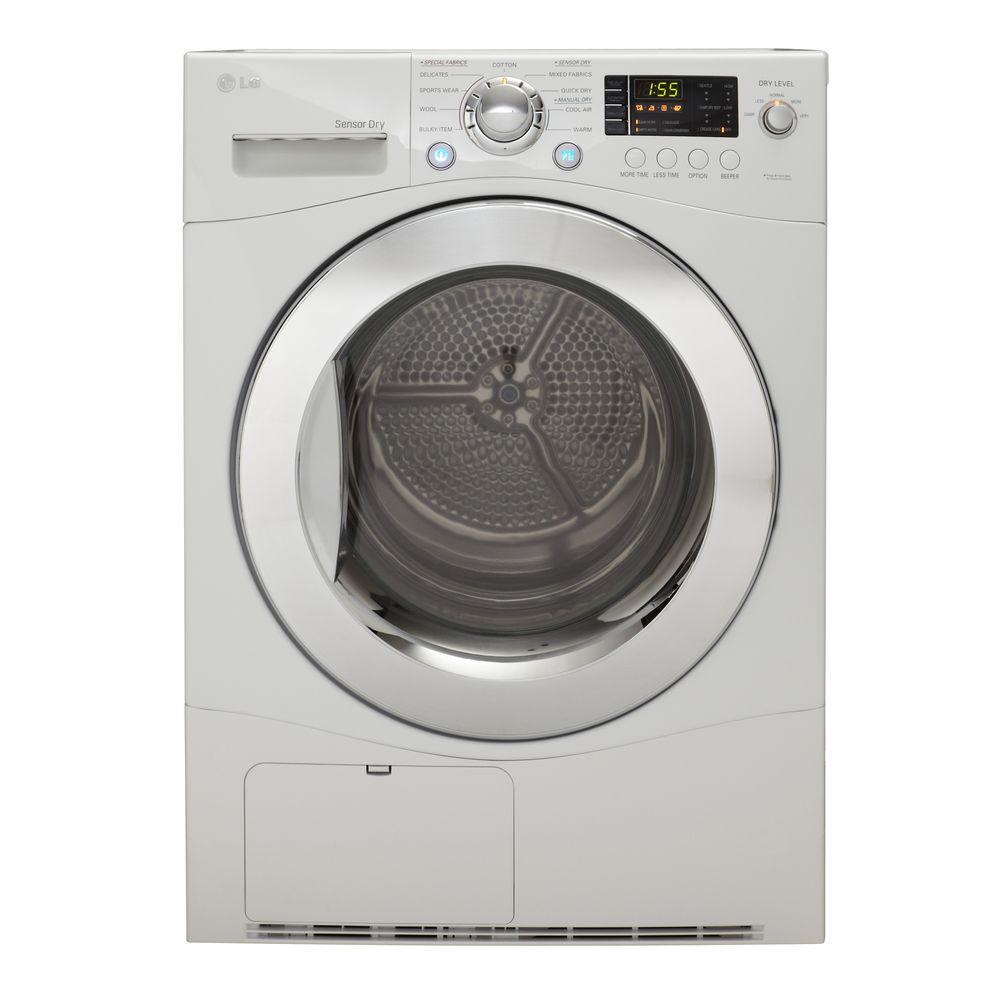 LG Electronics 4.2 cu. ft. Electric Ventless Dryer in White